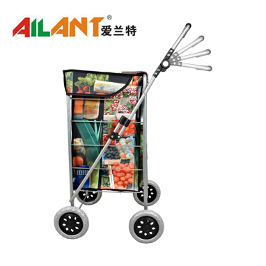 Four wheel  shopping trolley ELD-H108