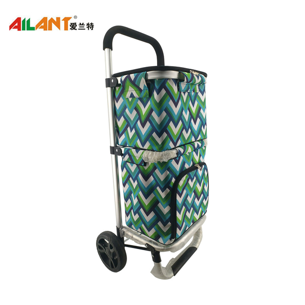 Alu alloy shopping trolley ELD-L109