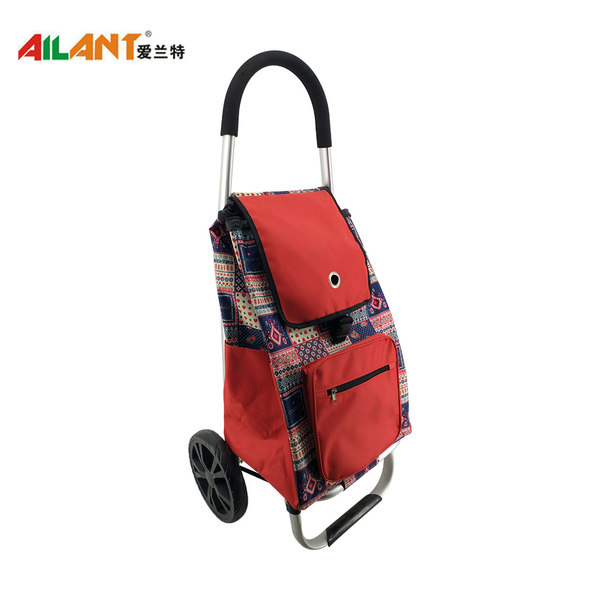 The extra pocket  shopping trolley ELD-L103
