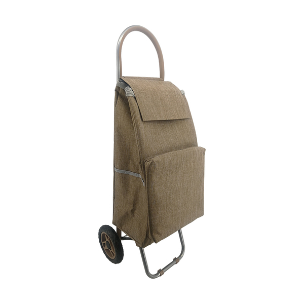 The extra pocket  shopping trolley ELD-S502