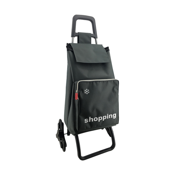 The extra pocket  shopping trolley ELD-C204-4