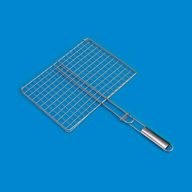 不銹鋼柄雙鉤烤夾BQ583SA
