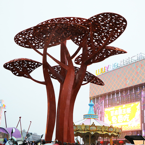 Zhenjiang Wuyue Square Stainless Steel Sculpture Square Sculpture