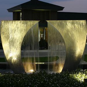 不锈钢喷泉雕塑