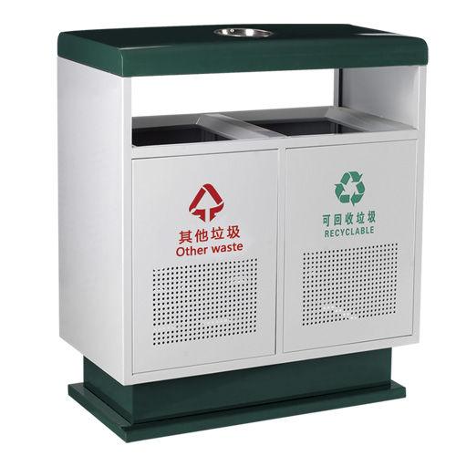 LY-CK040/冲孔果皮箱-ф350x(H)850mm