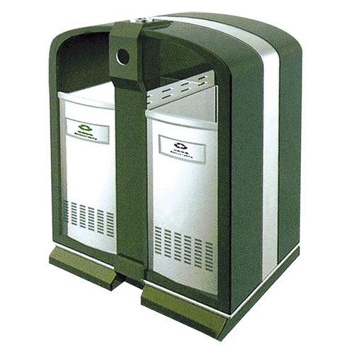 LY-CK004/冲孔果皮箱-(L)850x(W)350x(H)1000mm