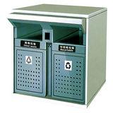 LY-CK015/冲孔果皮箱 -(L)800x(W)350x(H)900mm