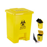LY-S25A-034/塑料垃圾桶 -365X310X455mm