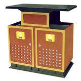 LY-CK003/冲孔果皮箱 -(L)900x(W)350x(H)950mm