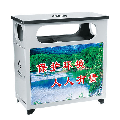 LY-BXG003/不锈钢果皮箱-(L)1400x(W)600x(H)1200mm