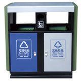 LY-JS002/金属果皮箱-(L) 900x(W)400x(H)1000mm