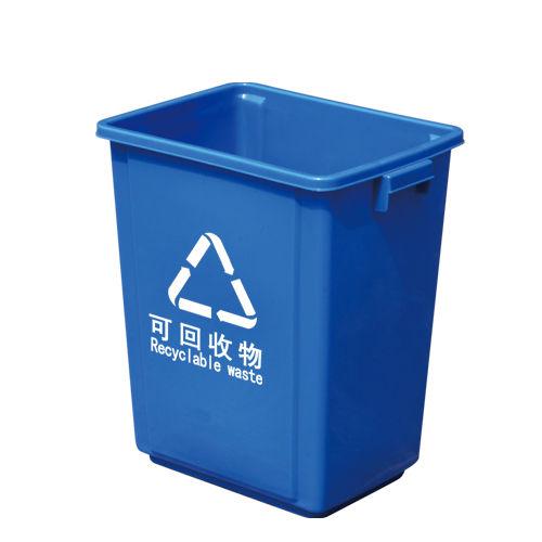 LY-S16A-049/塑料垃圾桶-340X245X380mm