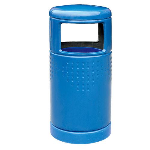 LY-G-FRP022/玻璃钢果皮箱-ф430x(H)930mm