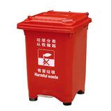 LY-S61A-023/塑料垃圾桶 -435X420X670mm