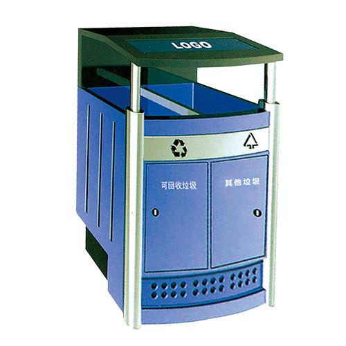 LY-HW014/户外果皮箱-(L) 800x(W)400x(H)900mm
