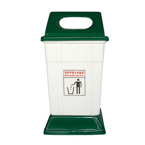 LY-G-FRP026/玻璃钢果皮箱-(L)515x(W)455x(H)1020mm
