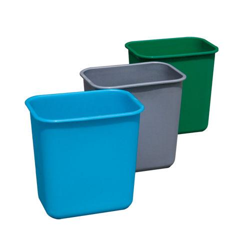 LY-S10C-041/塑料垃圾桶-305X220X305mm
