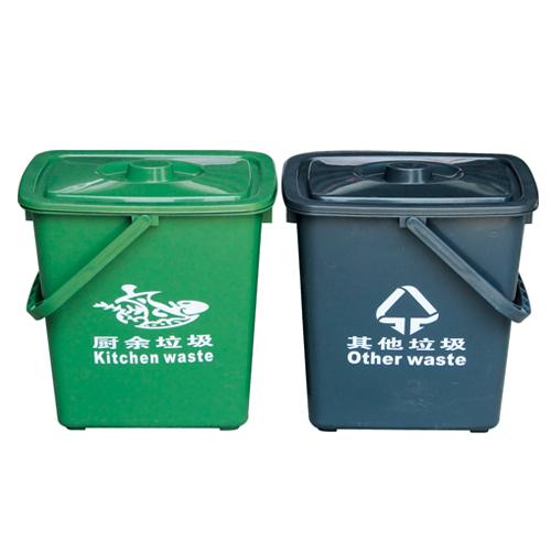 塑料垃圾桶-