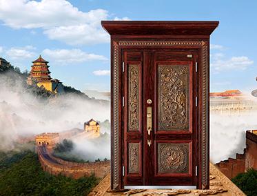霸守私人定制真铜别墅门,带给你不一样的尊贵!