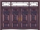 私人定制豪华非标门 -9050模压工艺门(真紫铜)