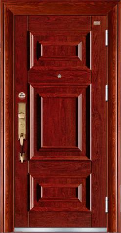高端私人定制艺术安全门-霸礼
