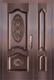 私人定制真铜别墅门-BS-8043