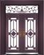 私人定制豪华非标门-9065拼接精品花(真紫铜)