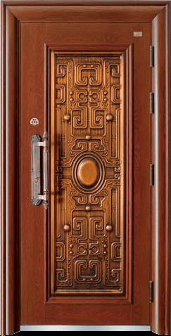 高端私人定制艺术安全门-霸道