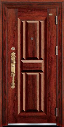 高端私人定制艺术安全门-名门贵族