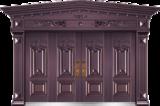 私人定制豪华非标门 -9029模压工艺门(真紫铜)