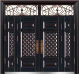 私人定制豪华非标门 -9031模压工艺门(合金铜)