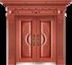 私人定制豪华非标门-8035模压工艺门(真红铜)