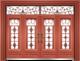 私人定制豪华非标门-9059拼接玻璃门(真红铜)