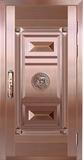 私人定制真铜别墅门 -BS-8051