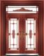 私人定制豪华非标门-9062拼接精品花(准红铜)