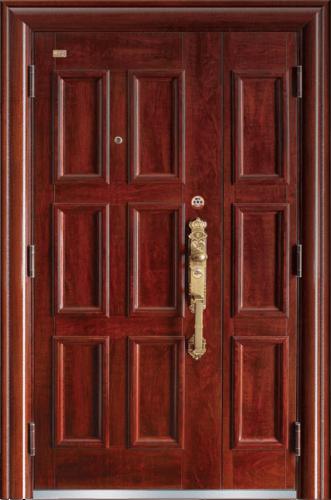 高端私人定制艺术安全门-时来运转
