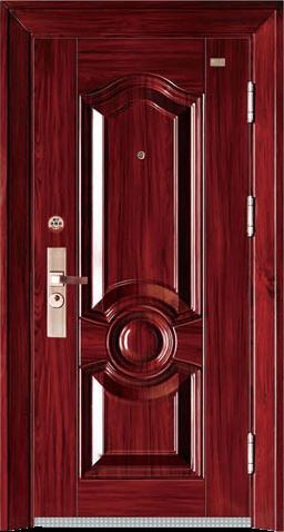 高端私人定制艺术安全门-霸吉