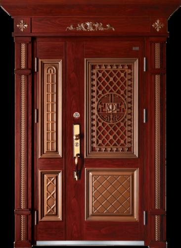 高端私人定制艺术安全门-大宅门