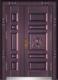 私人定制豪华非标门-9051模压工艺门(真紫铜)