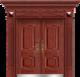 私人定制豪华非标门-9017拼接工艺门(磨砂转印)