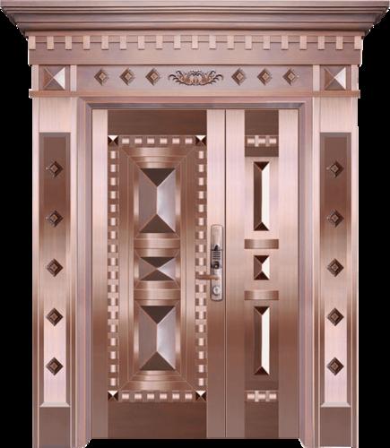 私人定制真铜别墅门-BS-8037