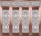 私人定制真铜别墅门 -BS-8033