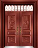私人定制豪华非标门 -9039模压工艺门(准红铜)