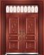 私人定制豪华非标门-8039模压工艺门(准红铜)