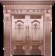 私人定制真铜别墅门-BS-8020