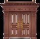 私人定制豪华非标门-8020模压工艺门(准紫铜)