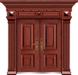 私人定制豪华非标门 -9016拼接工艺门(磨砂转印)