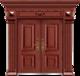 私人定制豪华非标门-8016拼接工艺门(磨砂转印)