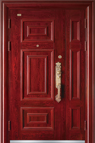 高端私人定制艺术安全门-左邻右舍
