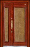 高端私人定制艺术安全门-黄金满屋